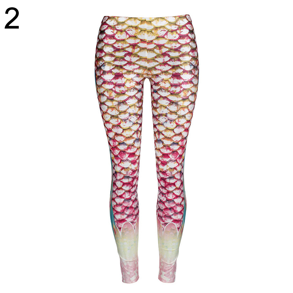 8f11b66f024403 ... the pictures shown on website caused by many factors such as brightness  of your monitor and light brightness. Package Includes: 1 x Mermaid Leggings