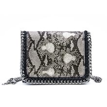 Handbag Snake Skin Bag for Women High-capacity Genuine Leather Messenger Bags Solid Vintage Womens Handbags