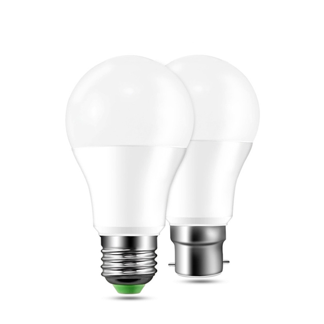 IP44 LED Sensor Bulb E27 B22 10W 15W AC220V 110V Dusk To Dawn Light Bulb Day Night Light LED Sensor Lamp For Home Lighting