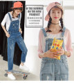 2017new fashion jumpsuits denim overalls for women jeans jumpsuit large size thin spring  Siamese pants denim overalls