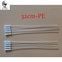 BED KUNGFU Medical PE Anal Enema Hoses 5g/pcs White Catheter Urinary 24cm Disposable Anal Cleaner Plugs 10pcs/lot Free Shipping
