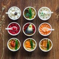 2017 Nuova Simulazione Modello Alimentare Catena Pendente Del Telefono Creativo Piccolo Regalo Ornamenti Del Sacchetto Romanzo Giocattoli ingbaby Bavagli & Scherzi Pratici