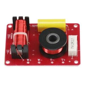 Image 2 - GHXAMP 2 drożny Crossover Audio Treble Bass 2 jednostki Crossover Surround głośniki półkowe filtr dzielnik częstotliwości 12db 130W 2szt