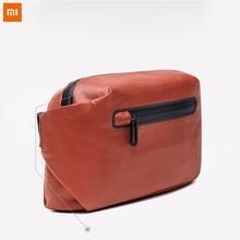 Xiaomi 90 Водонепроницаемый сумка поясная сумка Деньги Телефон поясная Сумка Прохладный Повседневное Грудь сумка для спорта для верховой езды с безопасности Предупреждение
