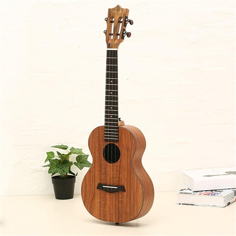 Enya X1 23 ''/26 Pulgadas Hawaii Concert Koa Tenor Ukulele rosewood Con Cabeza H