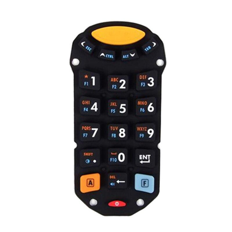 5 pcs lote nova substituicao mc1000 21 chaves digitador borracha teclado para symbol barcode scanner leitor