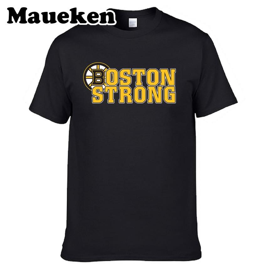Men Boston Strong Hope T-shirt Tees Short Sleeve Boston T SHIRT Men's Bruins Fashion W1117001