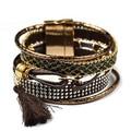 2016 бразильский IPANEME кожаный браслет bijoux boho манжетой pulseira Летний Пляж Ипанема bracalets женщина Богемия