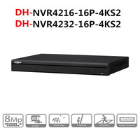 DH NVR POE video recorder 16 32 Channel 1U 16PoE 4KH.265 Lite Network Video Recorder NVR4216 16P 4KS2 NVR4232 16P 4KS2