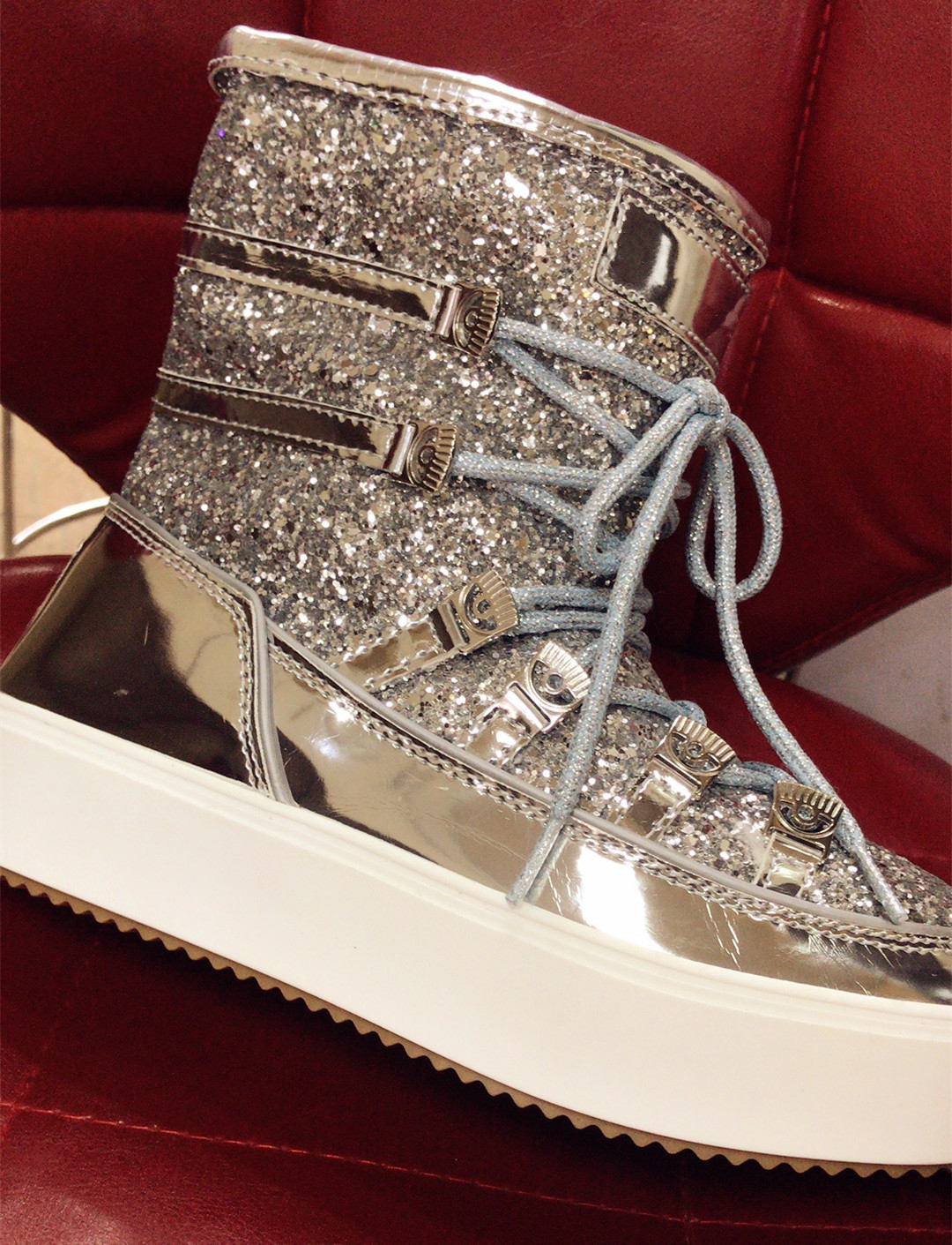 Chaud Pain Paillettes as Picture Plate Femme Strass Dentelle Picture Hiver Wedge forme Courtes Bottes Neige Mode Femmes Chaussures Fourrure Up As 0ZYxqf
