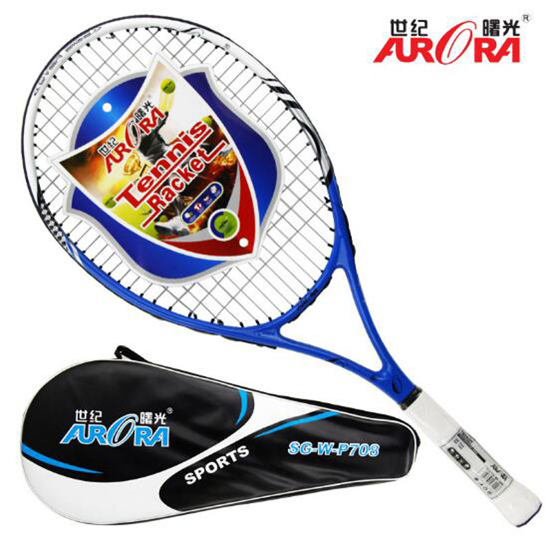Haute Qualité MP Niveau Raquette De Tennis En Fiber De Carbone Raquette De Tennis raquettes Équipée avec Sac De Tennis Grip Taille 4 1/4 Raquetas Tenis