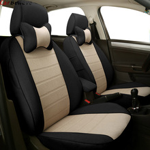 Car Believe car seat cover For mercedes w204 w211 w210 w124 w212 w202 w245 w163 accessories covers for vehicle seat protector kokololee pu leather car seat cover for chevrolet sonic mercedes w204 w211 w212 skoda kodiaq bmw g30 car styling car accessories