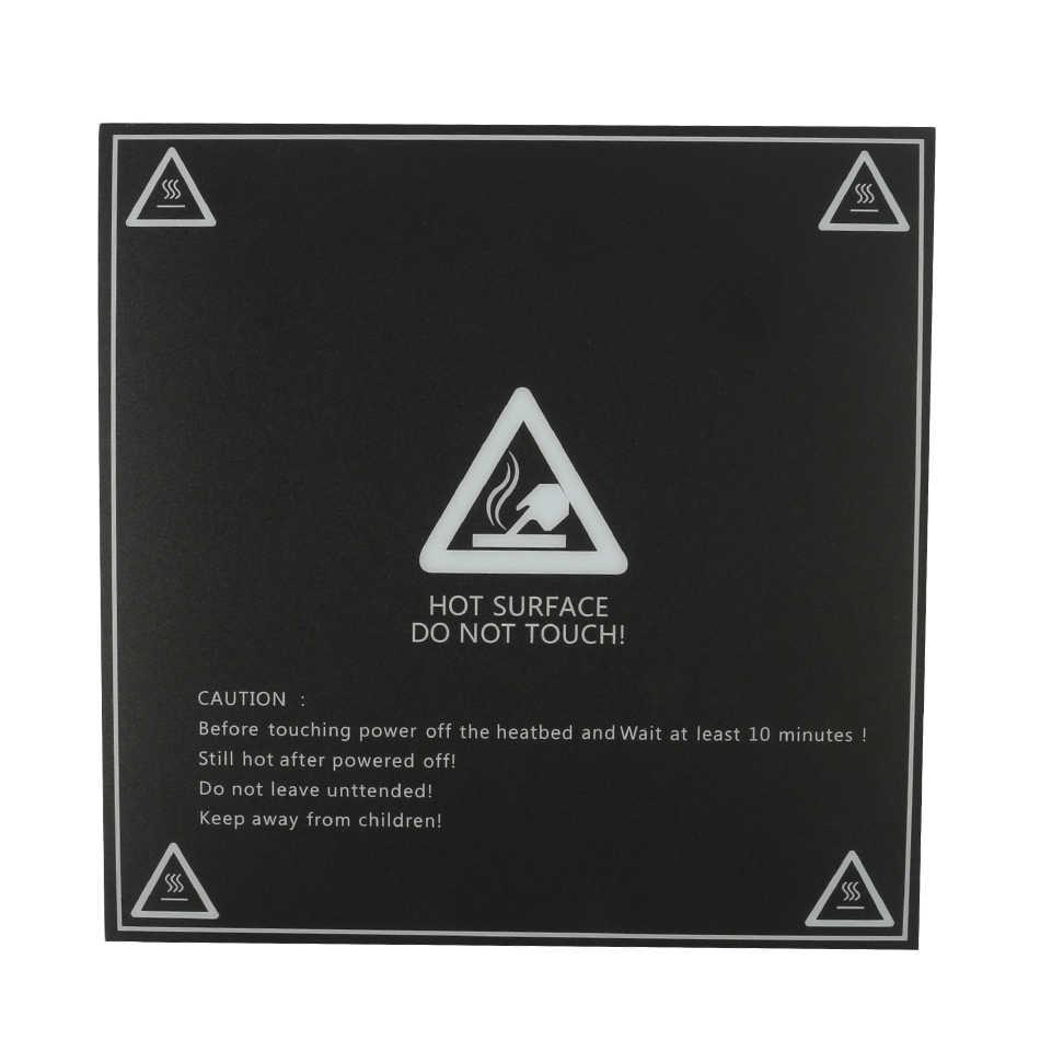 Матовые Подогреваемые наклейки для кровати, печатные листы для сборки, пластинчатая лента, наклейка для платформы для Creality, cr-10, Lulzbot для 3D-принтера