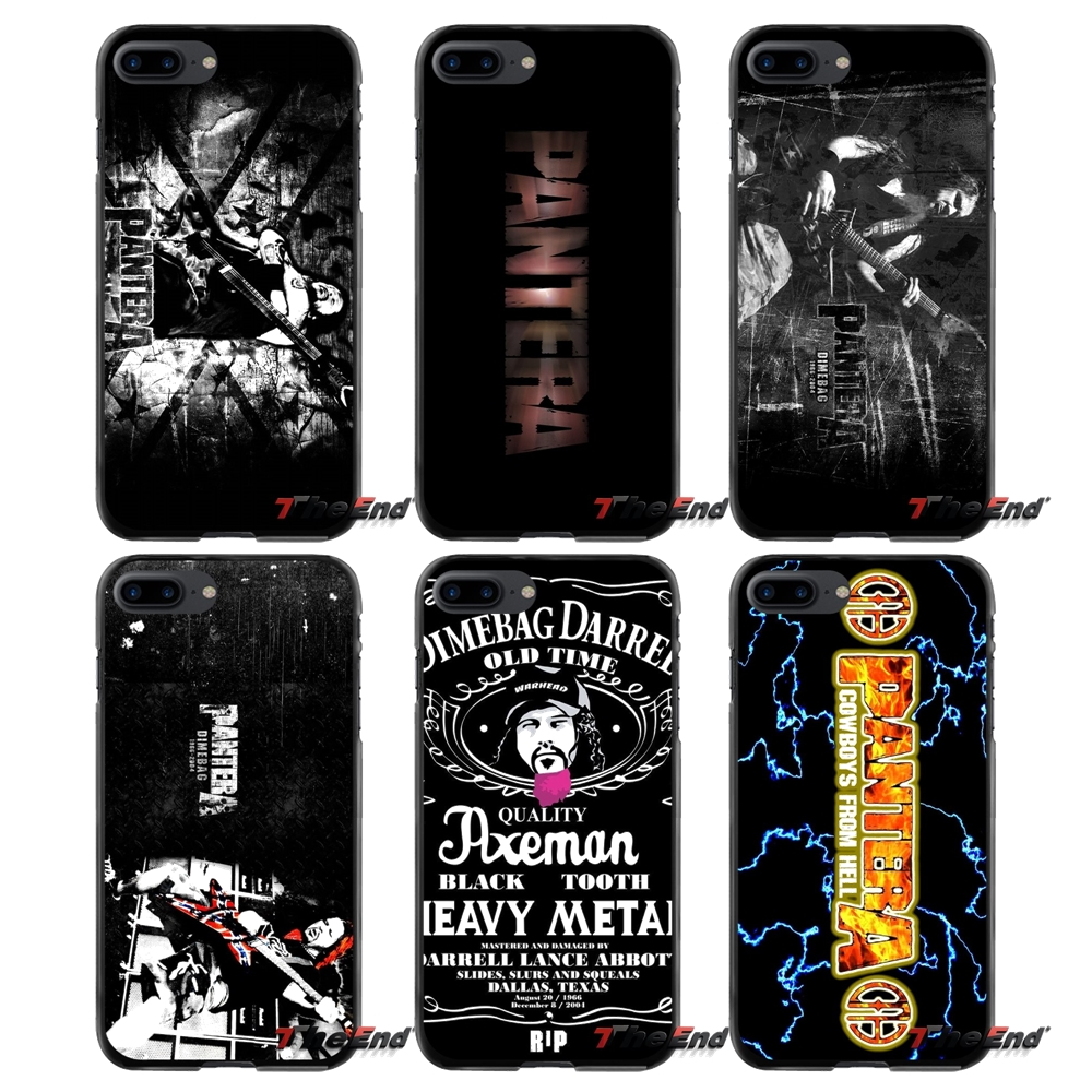 For Apple iPhone 4 4S 5 5S 5C SE 6 6S 7 8 Plus X iPod Touch 4 5 6 Pantera Accessories Phone Shell Covers
