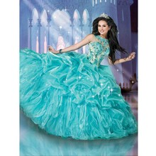 on Turquoise Quinceanera Dresses