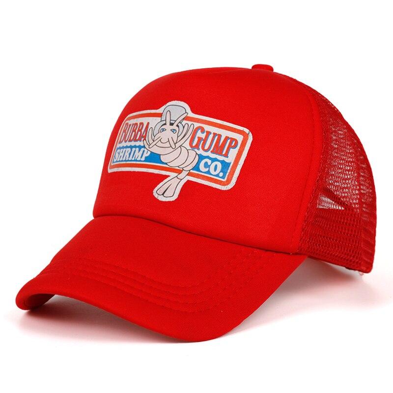 2019 new BUBBA GUMP   Cap   SHRIMP CO Truck   Baseball     Cap   Men Women Sport Summer Snapback   Cap   Hat Forrest Gump Adjustable Hat
