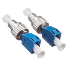 5pcs/lot SM Simplex Fiber Optic FC-LC FC-LC Hybrid Adaptor 2.5mm to 1.25mm single mode sm 9 125 fiber optic adapter 2 5mm to 1 25mm lc female to fc male connector fc lc hybrid adapter hot selling