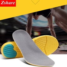 Memory Foam Mezzanine Sport Insoles Sweat Absorption Pads Running Sport Shoe Inserts Breathable Insoles Foot Care Men Women HD1