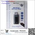 Профессиональная мобильная repaire инструменты USB Зарядное Устройство с Измерителем Мощности Автоматическое переключение индикация Напряжения и Ампер