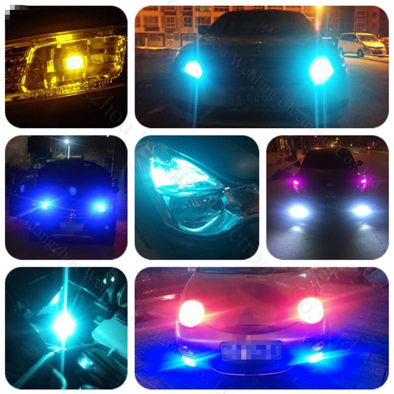 WLJH 2x Canbus Foutvrij Heatsink Auto LED Licht W5W T10 LED 3014 SMD - Autolichten - Foto 6