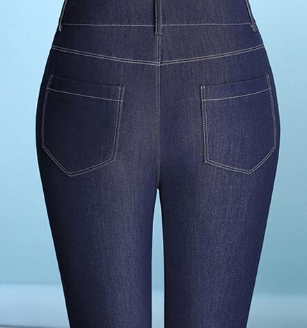 Flare Femmes Printemps Les Nouvelle Tencel Plus Pour Sy50810 Capris Taille Pantalon Haute Occasionnels Bleu Jeans La Femelle Mode rwqtp6xrnS