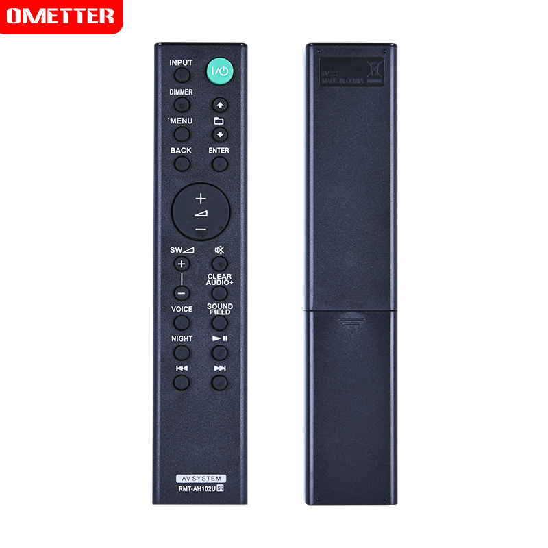 New RMT-AH102U Replaced Remote Control fit for Sony Home Theatre System HT-XT100 HTXT100