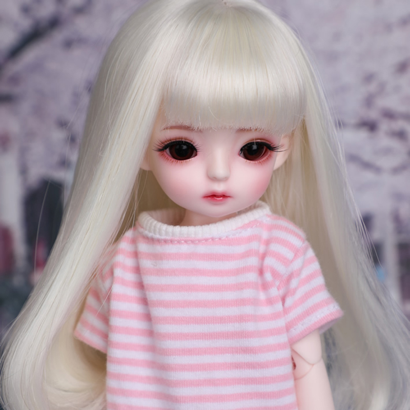 New Arrival Full Set 1/6 BJD Doll BJD/SD Lovely Cute BambiCrony VANILLA Resin Joint Doll With Eyes For Baby Girl Brithday Gift кукла bjd dc doll chateau 6 bjd sd doll zora soom volks