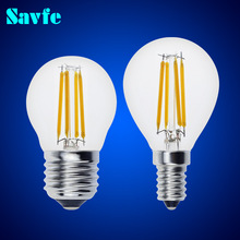 10pcs G45 E27 E14 Antique LED Edison Bulb Vintage LED Bulb Lamp 220V Retro LED Filament Bulb Candle Bulb Spotlight
