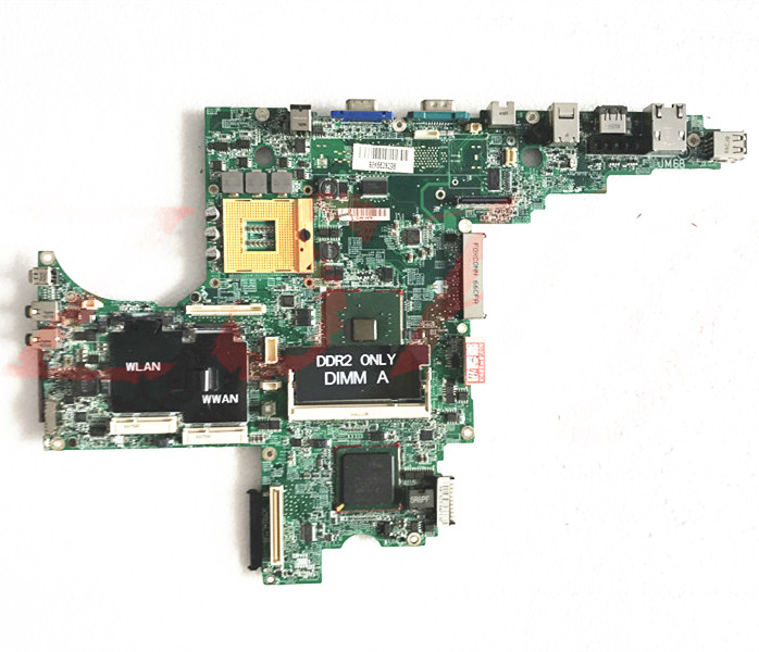 for dell d820 laptop motherboard ddr2 cn 0ff096 0ff096 945gm dajm6bmb8f7 Free Shipping 100 test ok