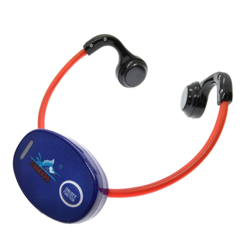Récepteur de casque étanche pour entraînement de natation à Conduction osseuse