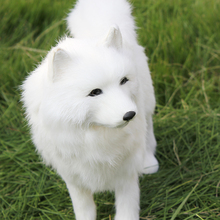 The Most Popular Plush Siberian Dogs Artificial Samoyeds White Husky