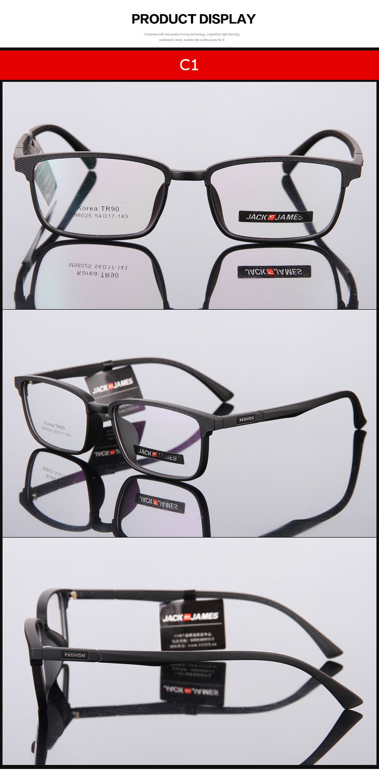 3780c13dd8 Spectacle Frame Eyeglasses Men Computer Optical Nerd Eye Glasses ...