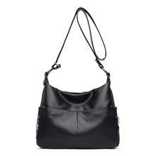 women leather Top-handle bags handbags women famous brands female casual shoulder bag Tote for girls SAC A MAIN Zipper 2019 C875