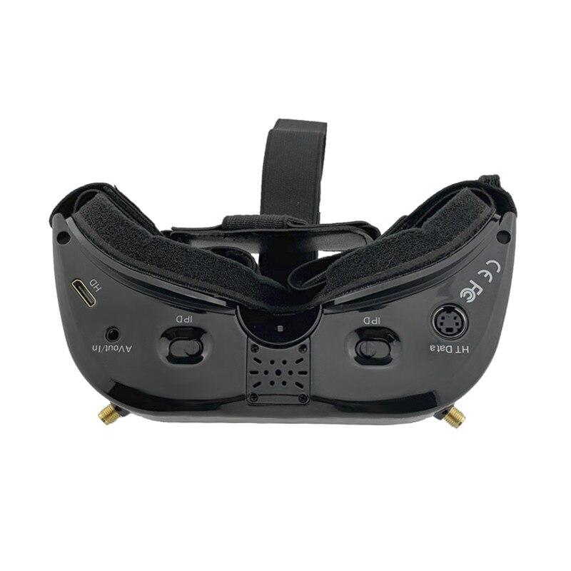 2019 Nuovo Aomway Commander Occhiali V1S 2D 3D 64CH 5.8G FPV Video Auricolare Supporto HDMI 720 p DVR Headtracker invece V1 v2 - 3