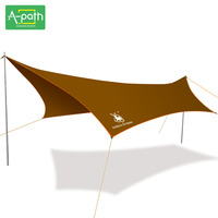 5 8 Person Large Outdoor Camping Sun Shelter Tarp Awning Beach Fishing Umbrella Party Garden Folding