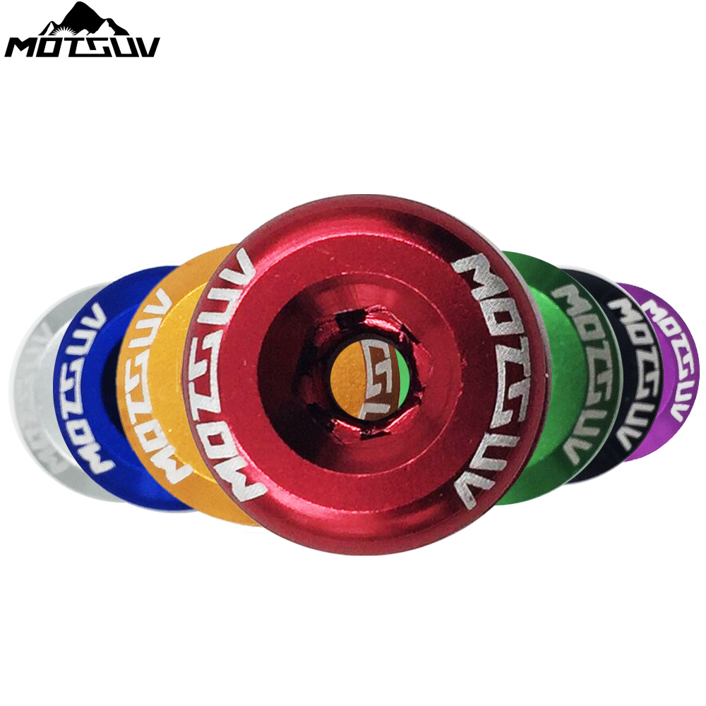 MOTSUV 5PCS Bicycle Chainwheel Screws Alloy CNC 7075 Chainring Wheel Bolt Road MTB Bike Disc Screws for Crankset Bicycle Parts