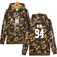 BTS Love Yourself Camoflague Hoodies (8 Models)