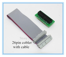 1pc Raspberry Pi Cobbler + 1pc GPIO Cable kit for Raspberry pi 2 and Raspberry pi B plus