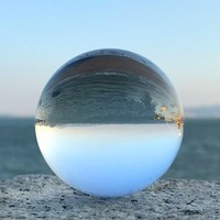 New Arrival Feng Shui Asian Quartz 120mm and 150mm Clear Crystal Ball Sphere For Home Decoration