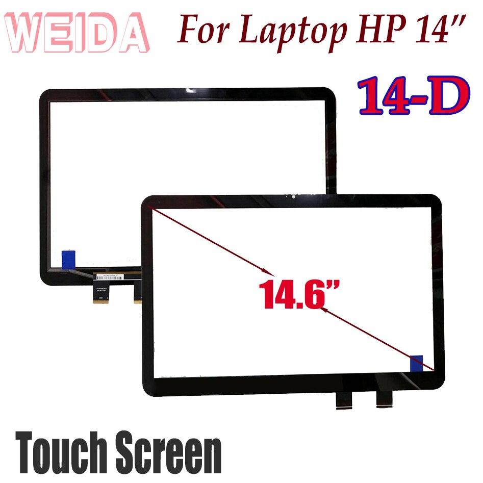 WEIDA tactile numériseur de remplacement pour ordinateur portable hp 14-D 14D écran pour ordinateur portable 14