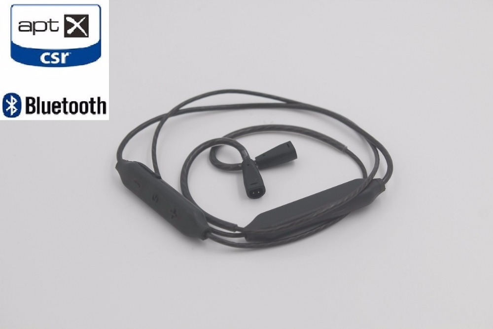 CSR8645 bluetooth 4 1 mmcx Cable aptX for shure se215 se535 se846 UE900 ie80 ie8 replacement