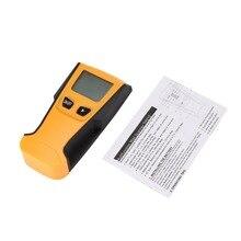 TH210 Digitale Handheld Lcd Display Wand Stud Zentrum Scanner Holz Metall AC Live Draht Kabel Warnung Detektor Finder