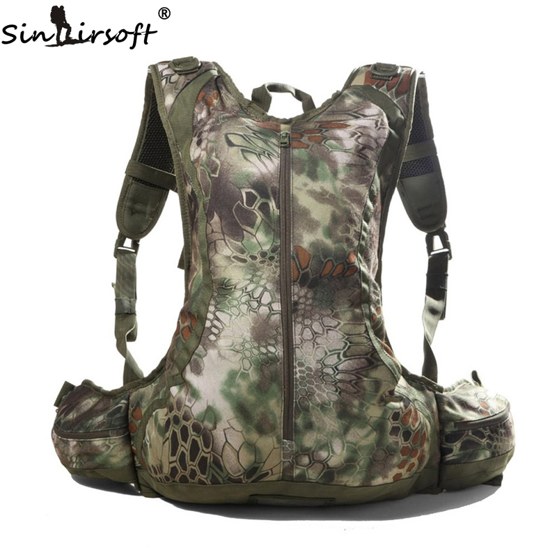 SINAIRSOFT 20L Tactical Outdoor Hunting Backpack Men Sports Camouflage Cycling Motorcycle Rucksack Riding Airsoft Paintball Bike
