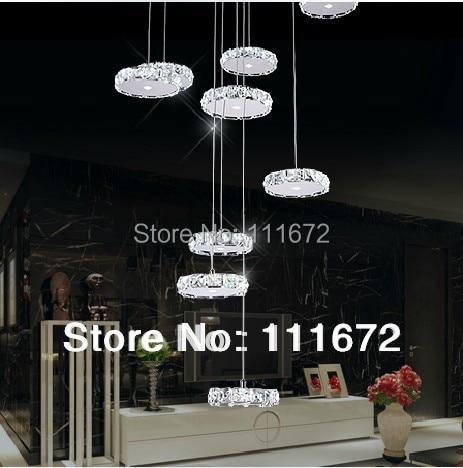 Nouveau Moderne grand LED lustre escaliers lumi%C3%A8re Diam%C3%A8tre 80 cm h%C3%B4tel projet d %C3%A9clairage 10 Bon Marché Lustre Grand Diametre Phe2