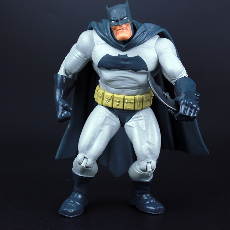 DC Superheros Super Hero Fat Batman Movable PVC Action Figures Collectible Model Toy Kids Gift 7 18cm KT226 neca batman begins bruce wayne joint movable pvc action figure collectible model toy 7 18cm