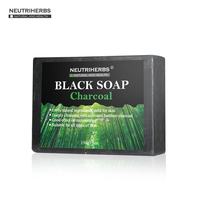 150g Pc Handmade Soap New Launch Whitening Skin Product Face Wash Black Bamboo Charcoal Soap