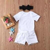 New Fashion Newborn Baby Girl Boy Clothes Set Sequins 3pcs Outfits Romper Top Pants Headband Clothes Set Jumpsuit 5