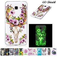 Luminous Case for Samsung Galaxy Grand Prime VE SM G531 G531H G531F G531H/DS SM-G531H SM-G531F SM-G531H/DS TPU Soft phone case