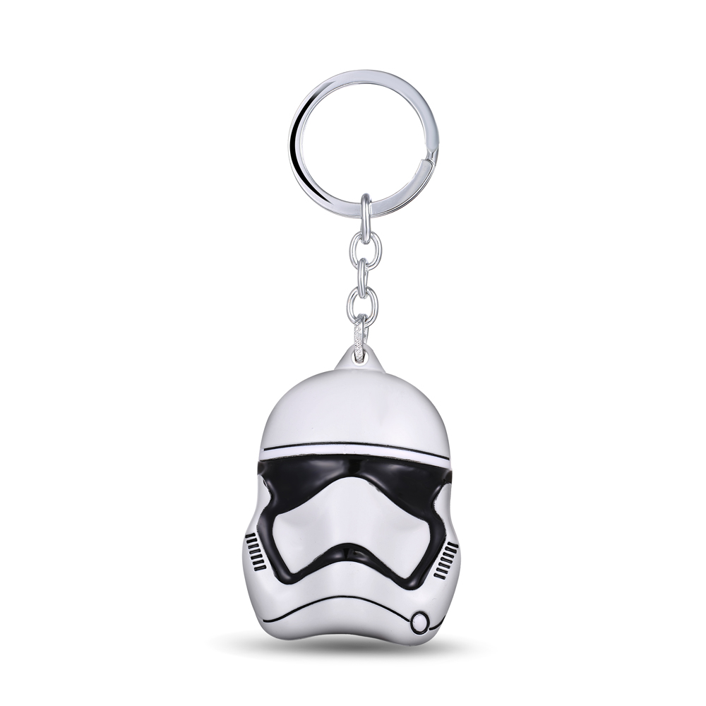 MS JEWELS Movie Star Wars Keychain Stormtrooper Mask Metal Key Rings For Gifts Chaveiro Key Chain