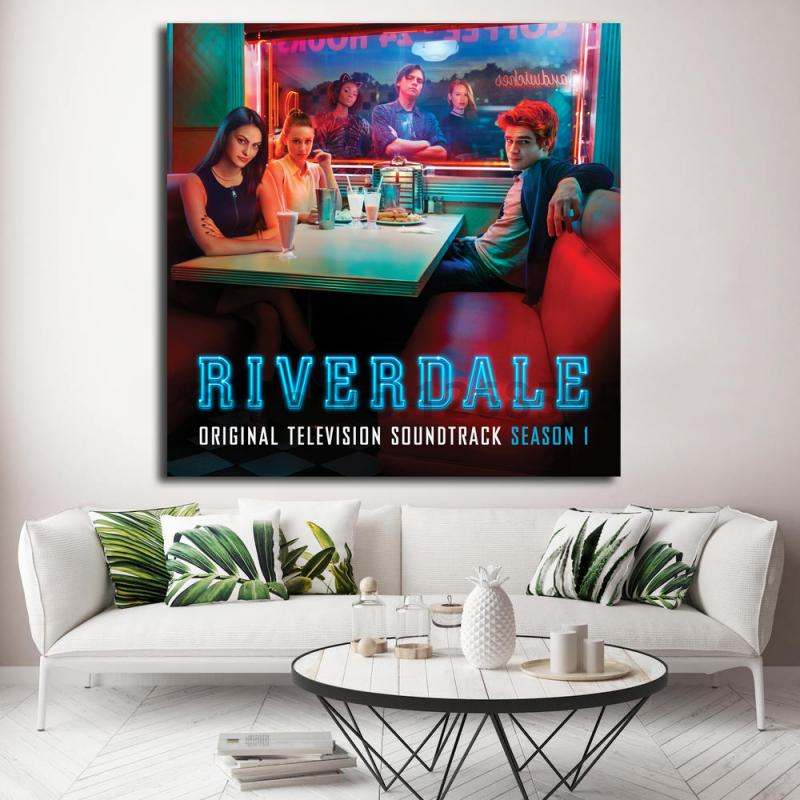 Riverdale Soundtrack Season One Wall Art Canvas Posters Prints Painting Wall Pictures Oil Painting For Living Room Home Decor